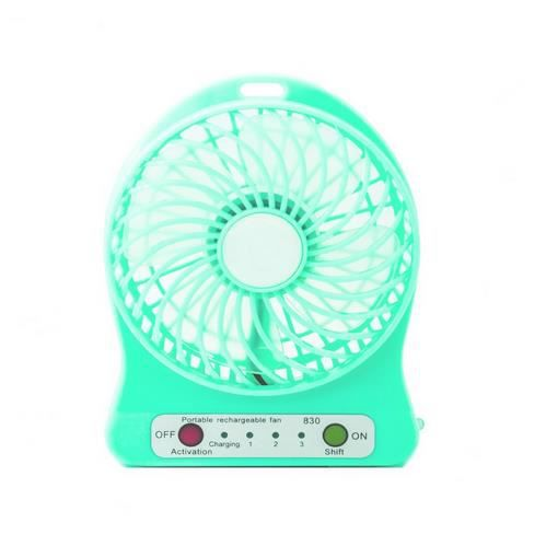 mini ventilateur 3 5 usb portable bleu 3 niveau vitesse. Black Bedroom Furniture Sets. Home Design Ideas