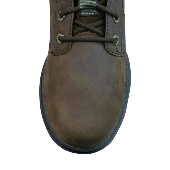 Caterpillar Grady Waterproof Mens Leather Chukka Boots - Brown Brown