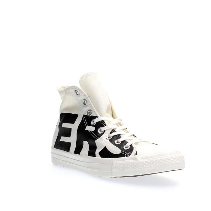 CONVERSE SNEAKERS Unisexe WHITE BLACK, 41