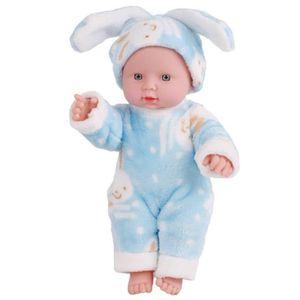 POUPÉE 30cm émulés Blink Doll Soft enfants Reborn bébé po