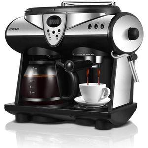 COMBINÉ EXPRESSO CAFETIÈRE GLEI-TK Machine à café Multifonction entièrement A