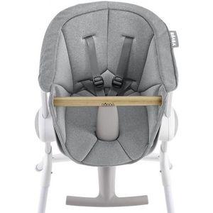 CHAISE HAUTE  BEABA Assise chaise haute Up&Down grey
