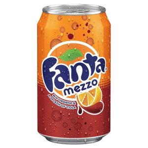 ASSORTIMENT 0% ALCOOL Fanta - Fanta Mezzo Mix 33cl (pack de 24)