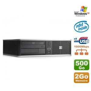 UNITÉ CENTRALE  PC HP DC7900 SFF Dual Core E5300 2.6Ghz 2Go Disque