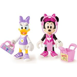 FIGURINE - PERSONNAGE MICKEY ROADSTER RACERS Pack de 2 Figurines Minnie