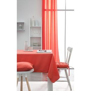 NAPPE DE TABLE TODAY Nappe 140x240 cm corail