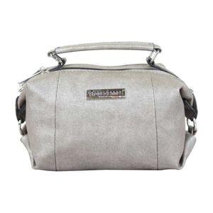 SAC BOWLING Mini sac bowling Les Tropéziennes gris argent méta