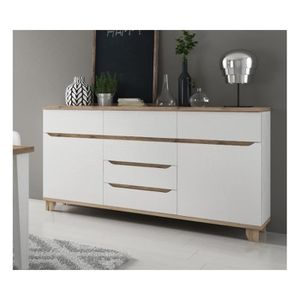 buffet scandinave achat vente pas cher cdiscount. Black Bedroom Furniture Sets. Home Design Ideas