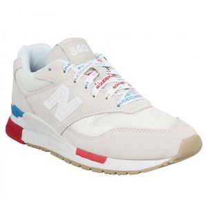 best sneakers b96e7 c7730 BASKET Baskets NEW BALANCE 840 velours Femme-40-Blanc