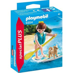 UNIVERS MINIATURE PLAYMOBIL 9354 - Family Fun - Sportive avec paddle