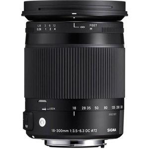 OBJECTIF SIGMA 18-300mm F3.5-6.3 DC MACRO HSM OS Contempora
