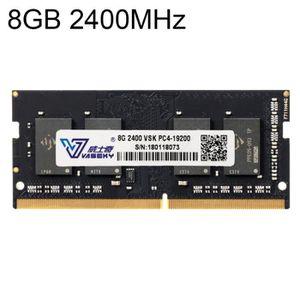 MÉMOIRE RAM Vaseky 8GB 2400MHz PC4-19200 DDR4 Module Mémoire R