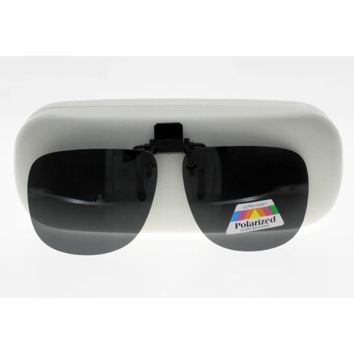 CLIP 1969 A Sur-lunettes Gris polarise Grande T…
