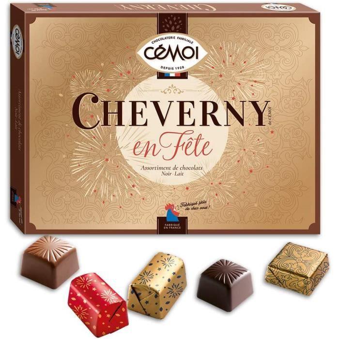 Chocolats Noel Cémoi Coffret Cheverny en Fête 400 g