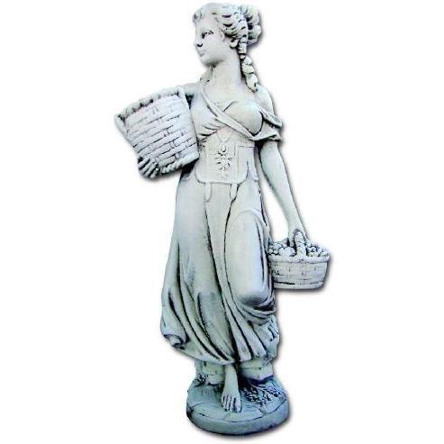 Statue de jardin Jeune Fille aux Paniers
