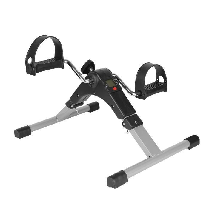 Muscle Trainer Fitness Pédalier Mini Vélo d'Appartement à Pédale Pliable @Bonachat