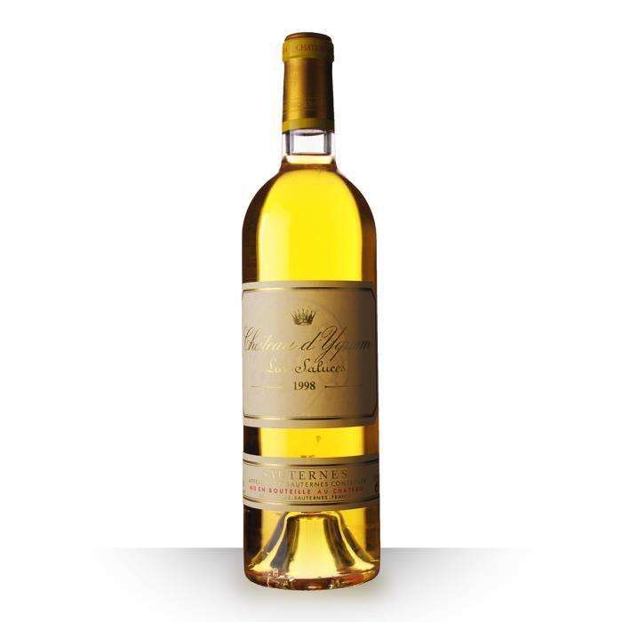 Château d'Yquem 1998 Blanc 75cl AOC Sauternes - Vin Blanc