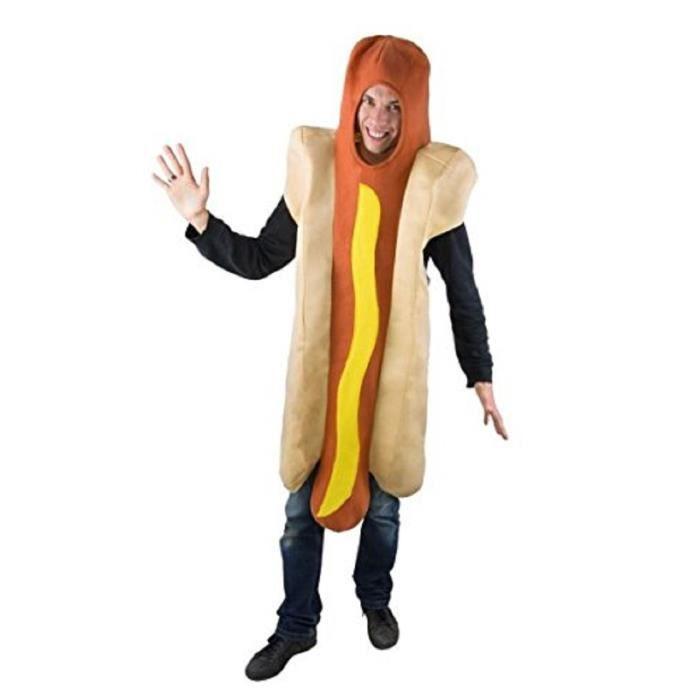 Deguisement Adulte Hot Dog Taille U