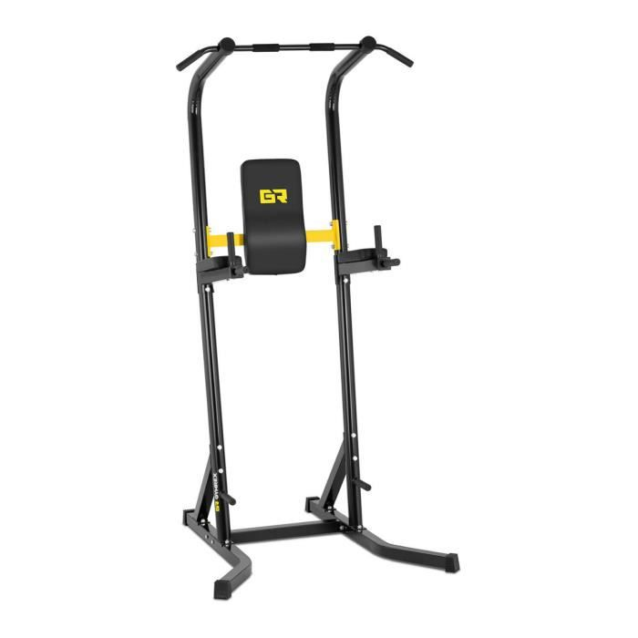 Chaise Romaine Musculation Station Multifonction Barre Traction Dips 120 kg Neuf