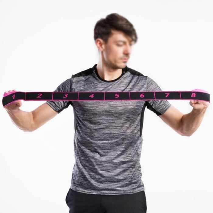 Bandes de Résistance Elastiques ceinture , Musculation-Bandes de Fitness Exercice Elastiques Gym Sport) -TUN