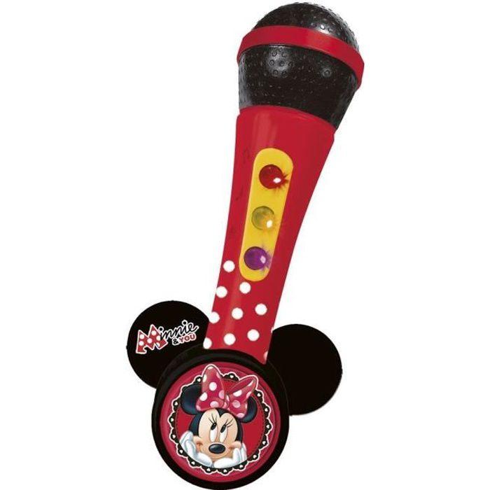MINNIE Microphone amplificateur avec mélodies et lumières