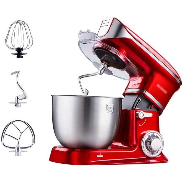 Robot P&acirctissier Stand Mixer Machine Food Processeur Dough M&eacutelangeur 1000W M&eacutelangeur de cuisine &eacutelec124
