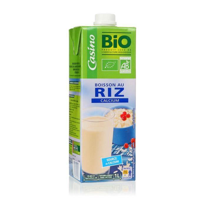 Boisson au riz Calcium - Biologique - 1 L