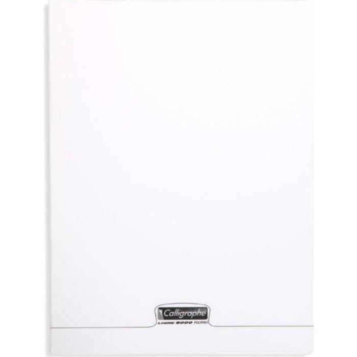 Cahier de dessin piqué 8000 PP 24 X 32 48 p uni 120 g