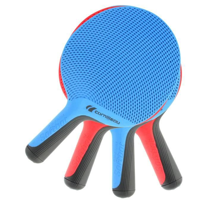 SOFTBAT Pack de 4 Raquettes de Tennis de Table Outdoor Quattro