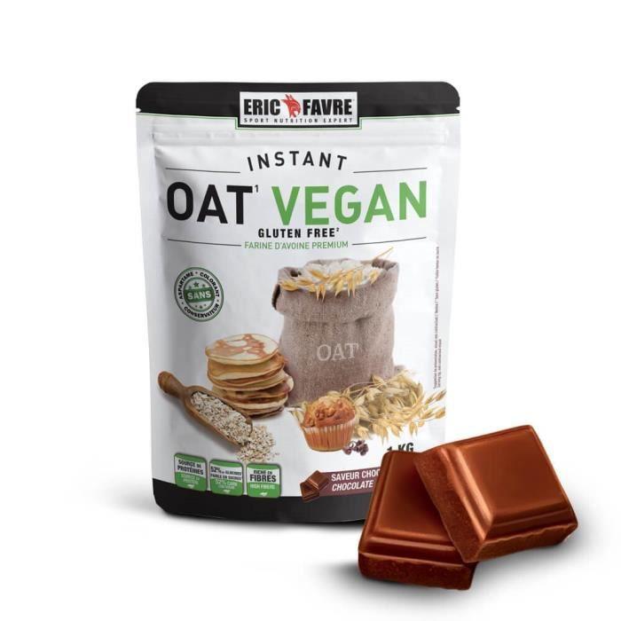 Farine d'avoine Instant OAT Vegan 1KG - Eric Favre Chocolat