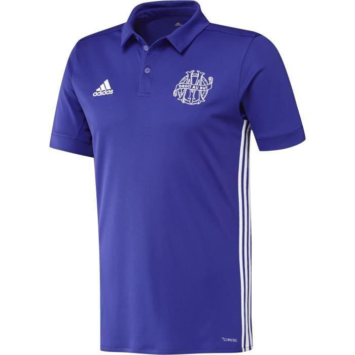 ADIDAS Maillot de football OM Third 17 - Homme - Violet