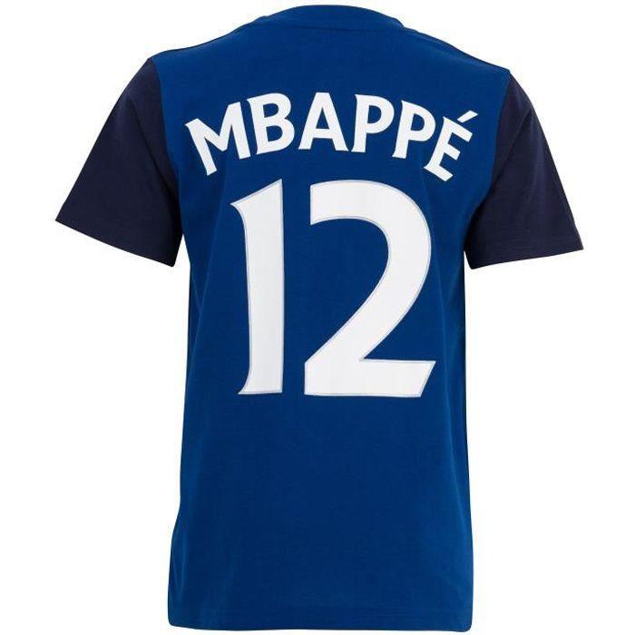 T-shirt FFF - Kylian MBAPPE - Collection officielle Equipe de France de Football