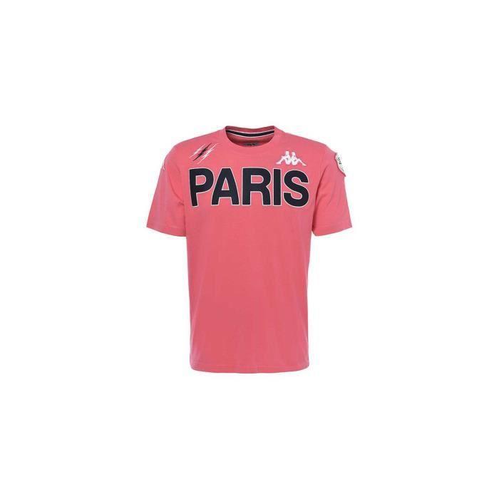 Tee-shirt rugby Stade Français Paris adulte 2019/2020 - Kappa -- Taille M