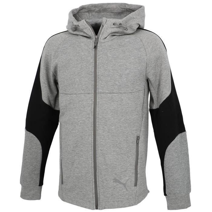 Vestes sweats zippés capuche Evostripe fz cap anc - Puma