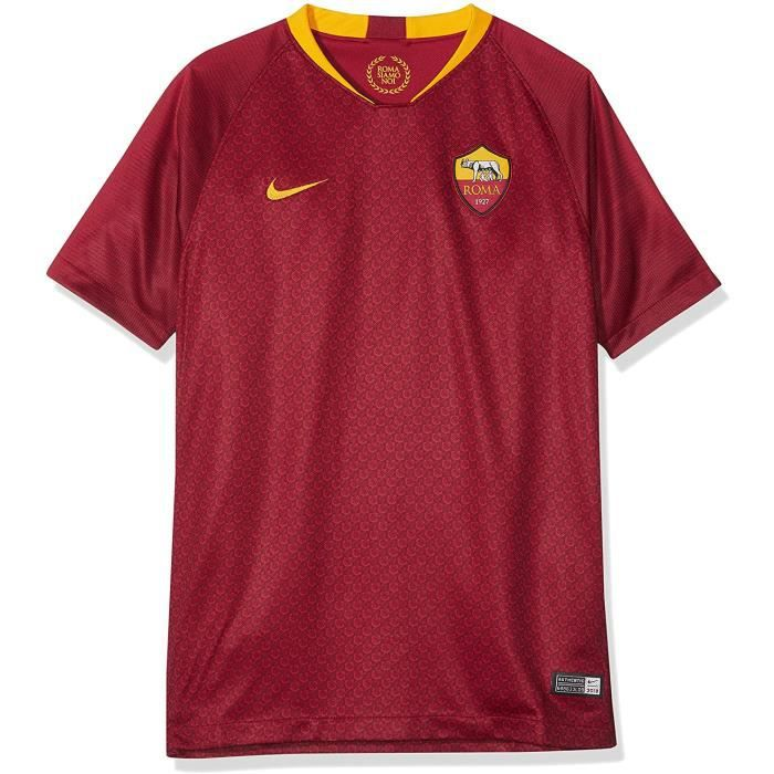 Nike Maillot Football As Roma Domicile Enfant Junior 2018/2019