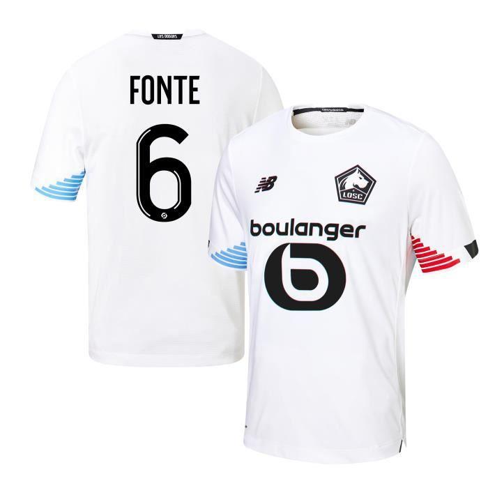 Nouveau Maillot de Foot Lille LOSC THIRD FONTE 2020 2021 Pas Cher pour Homme