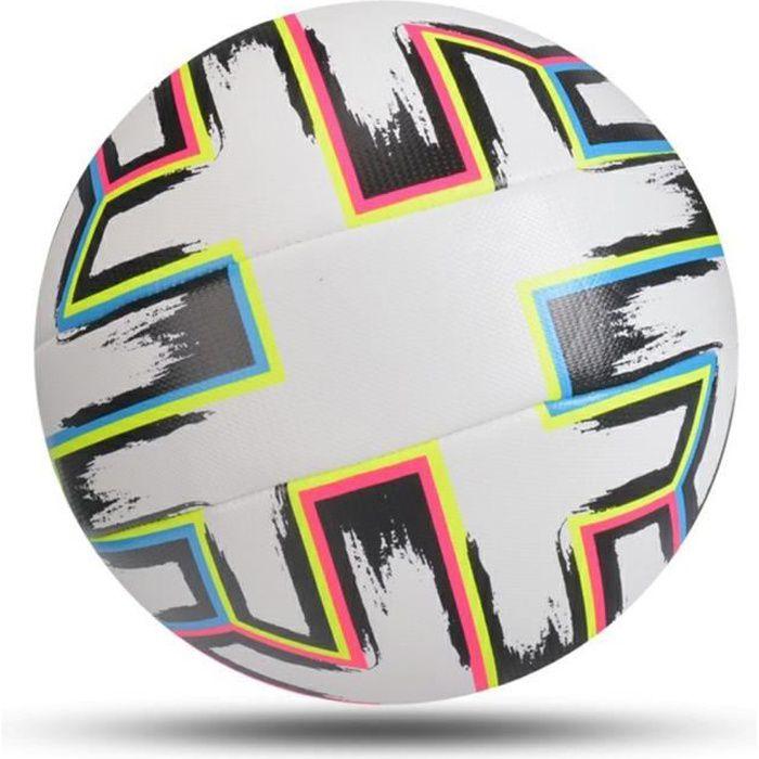Ballon De Football En Matériau Pu Cousu À Machine Ballons D'Entraînement De Match De Ligue De Football D