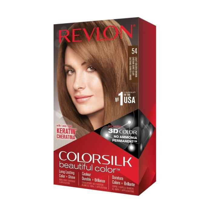 COLORSILK Coloration N°54 - Châtain doré clair - 59,1 ml