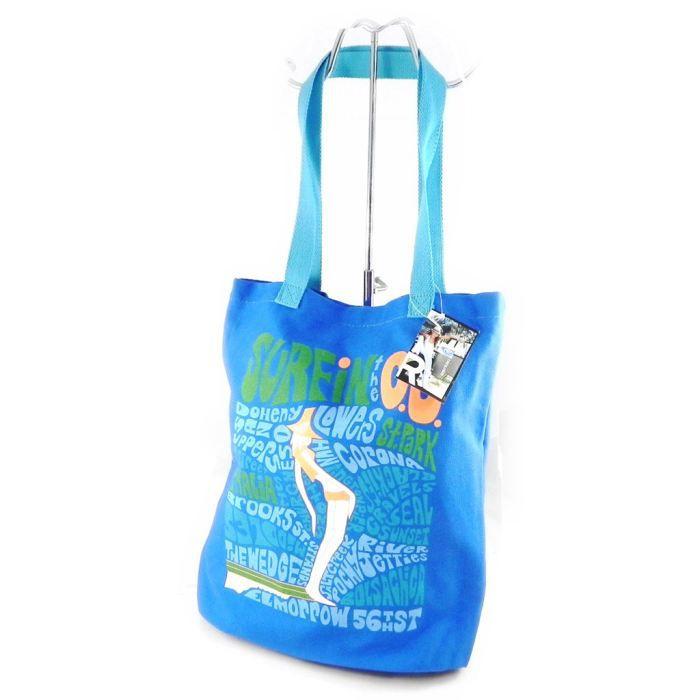 Sac shopping -Roxy- bleu