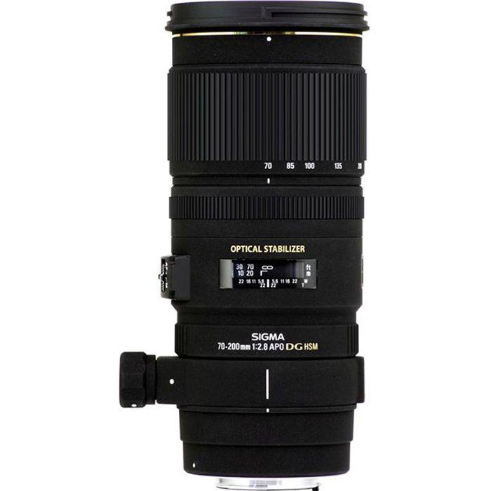 Sigma 70-200mm F2.8 EX DG APO OS HSM - Canon