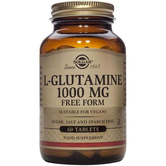 Solgar L-Glutamine 1000 mg - Comprimés - 60