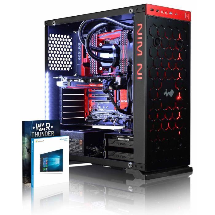 Vibox Species X Rl570 2 Pc Gamer Ordinateur avec War Thunder Jeu Bundle, Windows 10 Os (4,3Ghz Intel i5 6 Core Processeur, Asus Stri