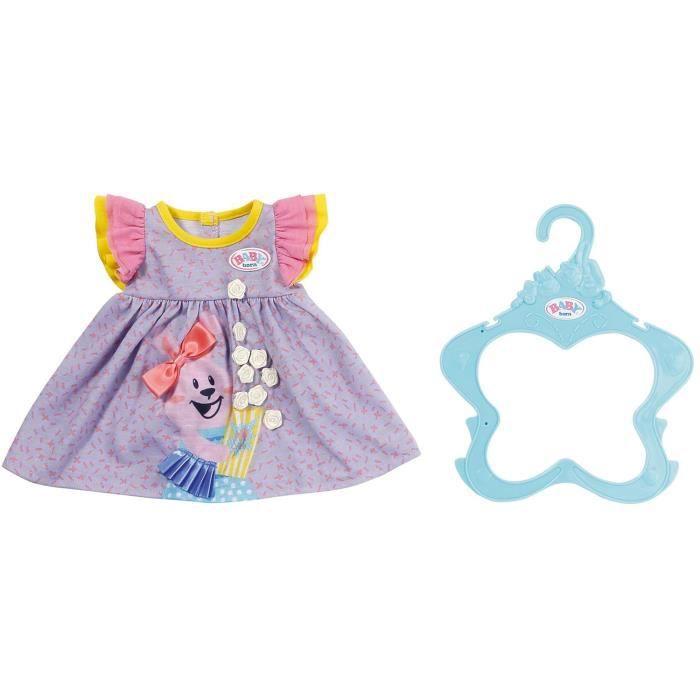 Accessoire pour poupée Zapf Creation 828243-B Baby born Robe violette 43 cm