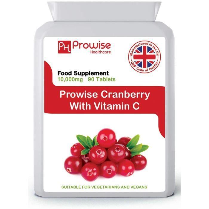 avantages cranberry