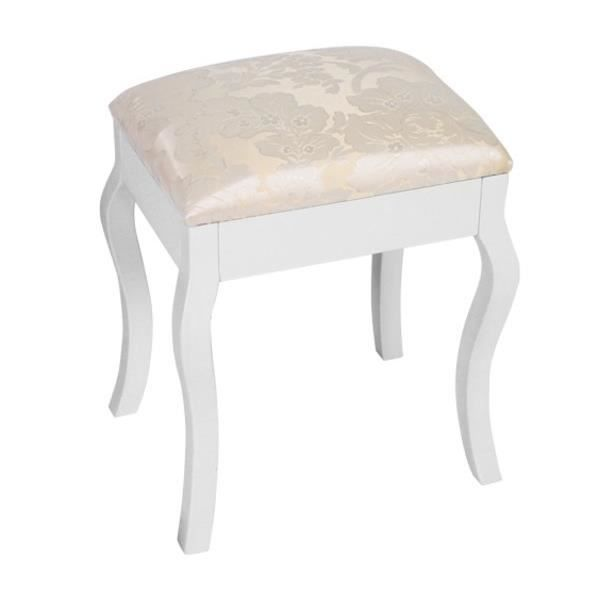 Object moved for Meuble coiffeuse avec tabouret