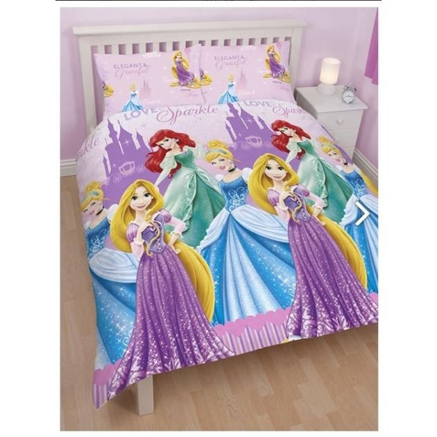 disney princesse housse de couette parure d achat vente housse de couette cdiscount. Black Bedroom Furniture Sets. Home Design Ideas