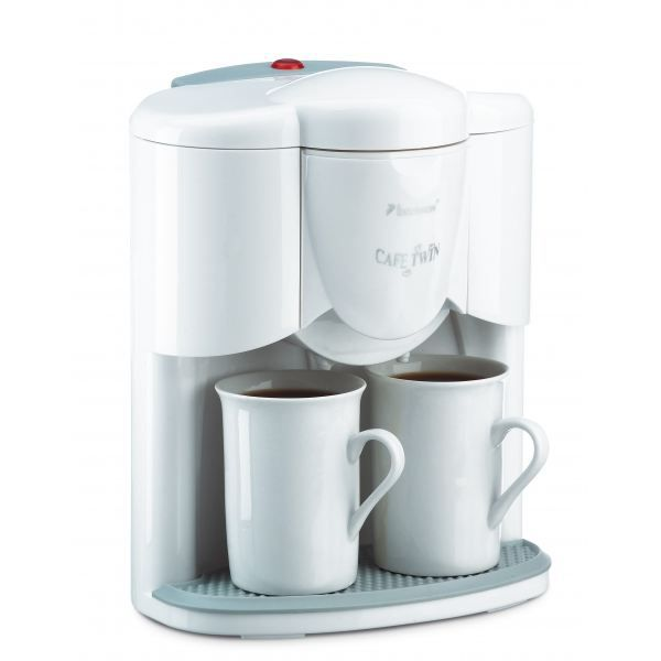 caf duo cafeti re 2 tasses incluses blanc achat vente cafeti re cdiscount. Black Bedroom Furniture Sets. Home Design Ideas