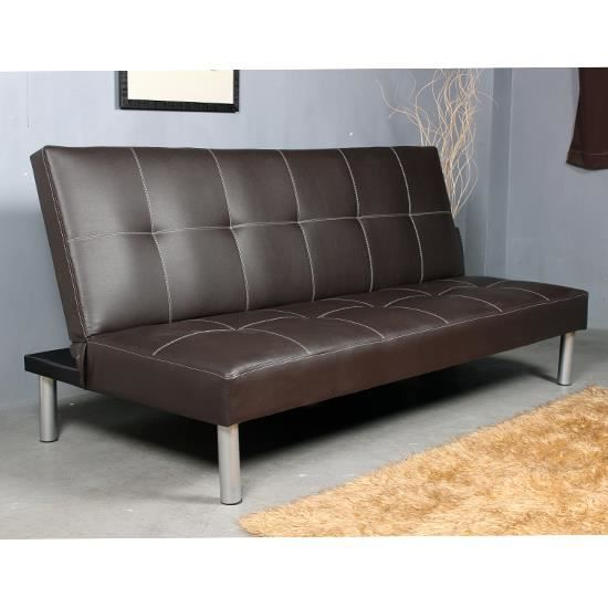 canap convertible fauteuil sofa banquette lit tro achat vente canap sofa divan cdiscount. Black Bedroom Furniture Sets. Home Design Ideas