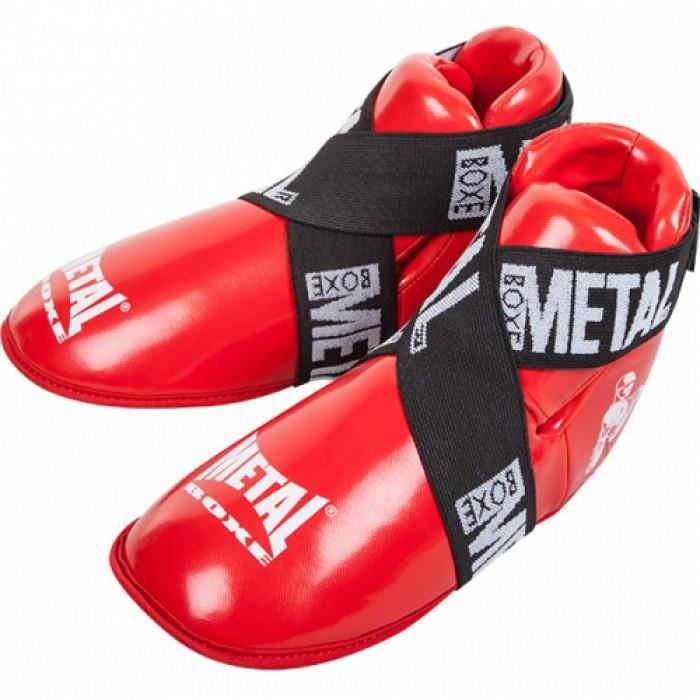 METAL BOXE Full Leger Protege Pieds Competition Mixte