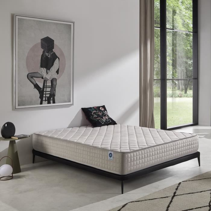 matelas m moire de forme memory soft 140x190 cm en aero latex 25 cm de naturalex confort. Black Bedroom Furniture Sets. Home Design Ideas